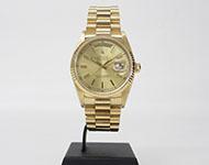ロレックス デイデイト メンズ 18038 K18金無垢時計