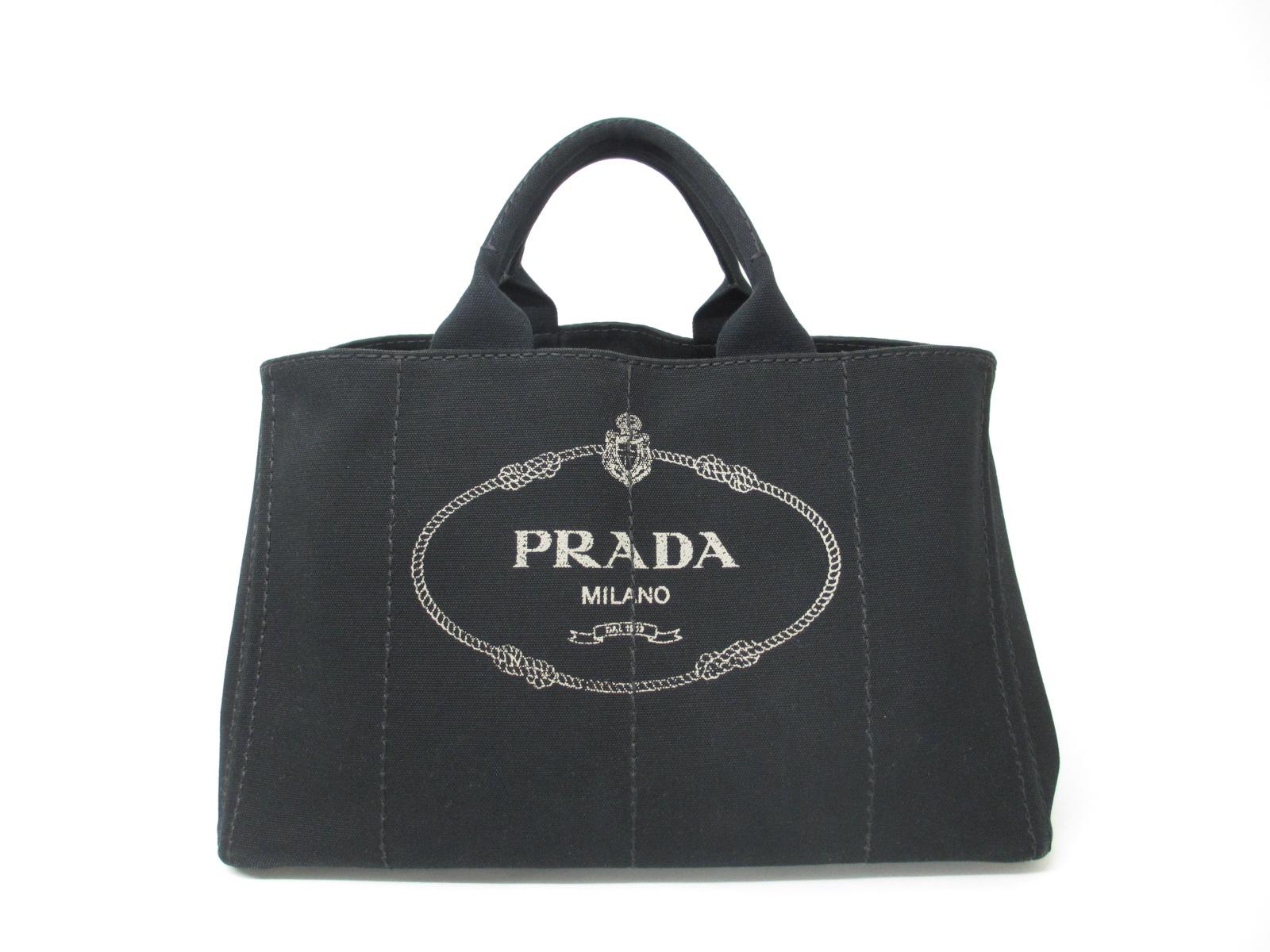 PRADA プラダ カナパトート BN2642 キャンバス ブラック
