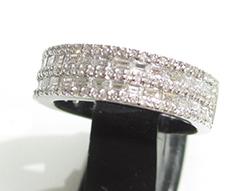 Pt900プラチナ 指輪 ダイヤモンド0.92ct