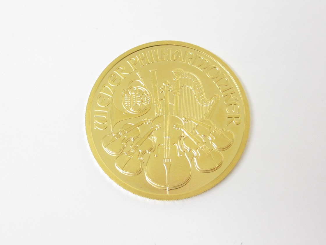K24(24金)オーストリア ウィーンハーモニー金貨 31.1g