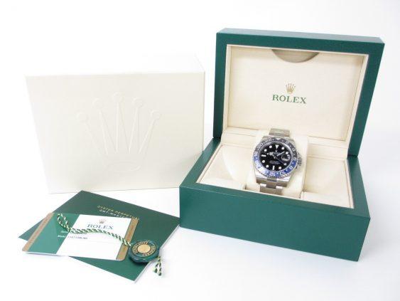 ROLEX ロレックス GMTマスターⅡ Ref.116710BLNR ランダム番