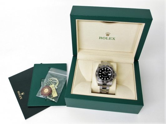 ROLEX ロレックス GMTマスターⅡ Ref.116710LN ランダム品番 ブラック文字盤