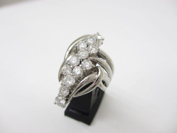 Pt900プラチナ 指輪 ダイヤモンド2.00カラット(VS2~SI1ランク)