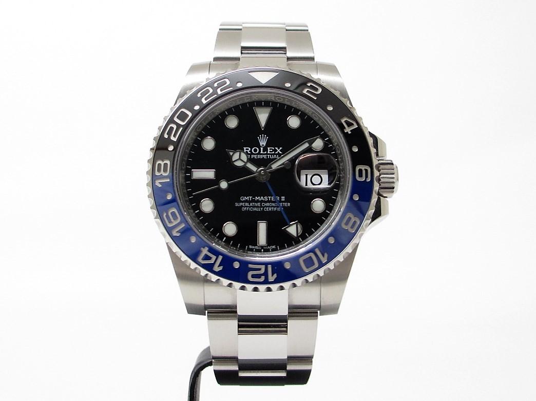 ROELX ロレックス GMTマスター2 Ref.116710BLNR ランダム番 ブルー×ブラック
