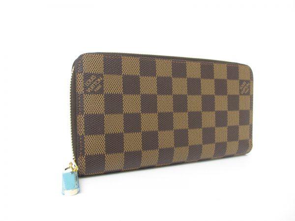 LV ルイヴィトン ジッピー・ウォレット N41661 ダミエ ラウンドファスナー長財布