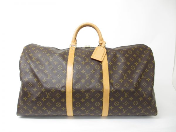 LOUISVUITTON ルイヴィトン モノグラム キーポル60 M41422 旅行バッグ