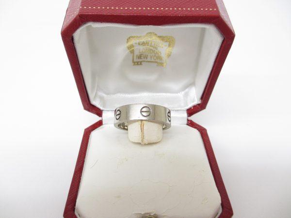 Cartier カルティエ K18WG ラブリング