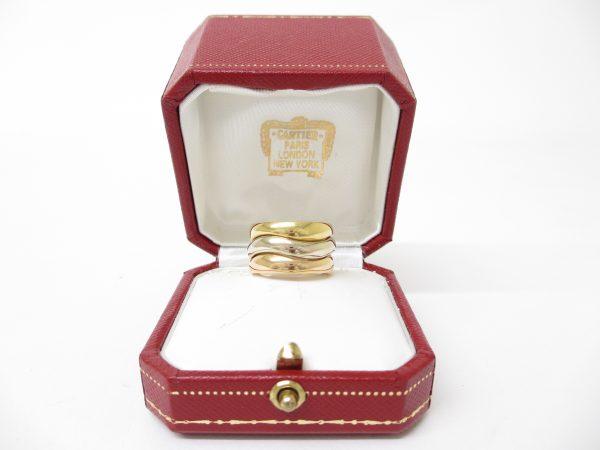 Cartier カルティエ K18YG×WG×PG ラブミーリング