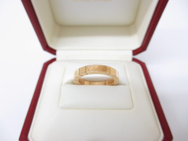 Cartier カルティエ K18ピンクゴールド ラニエールリング