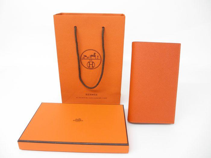 HERMES エルメス アジェンダヴィジョンⅡ 手帳カバー エプソン オレンジ