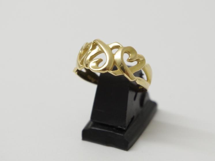 Tiffany&co. ティファニー K18YG ラビングハートリング(11月限定4周年記念・10%UPキャンペーン価格!)