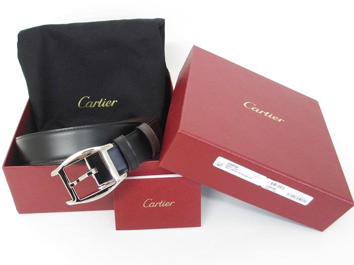 Cartier カルティエ トーチュ メンズ リバーシブルベルト L5000387