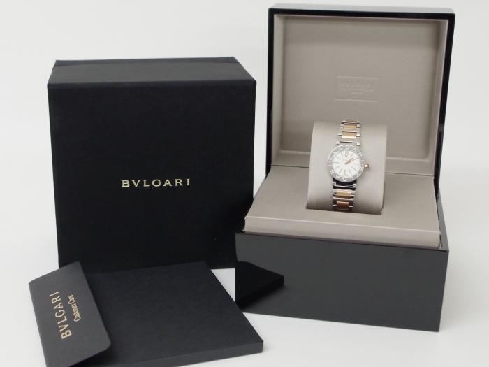 BVLGARI ブルガリブルガリ BBL26WSSPGD レディース腕時計(12月限定・査定金額10%UPキャンペーン価格!)