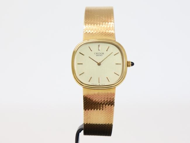 セイコー クレドール 金無垢 腕時計 2620-5200