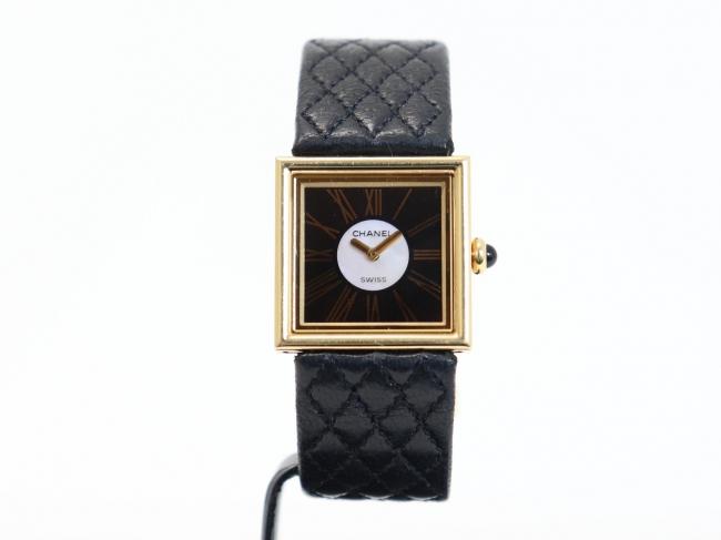 シャネル H0101 マドモアゼル K18YG レディース時計