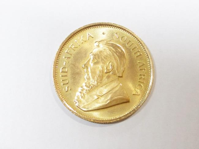 K22 クルーガーランド金貨 1/4オンス 8.4g(2020年4月時点。買取単価は変動します)