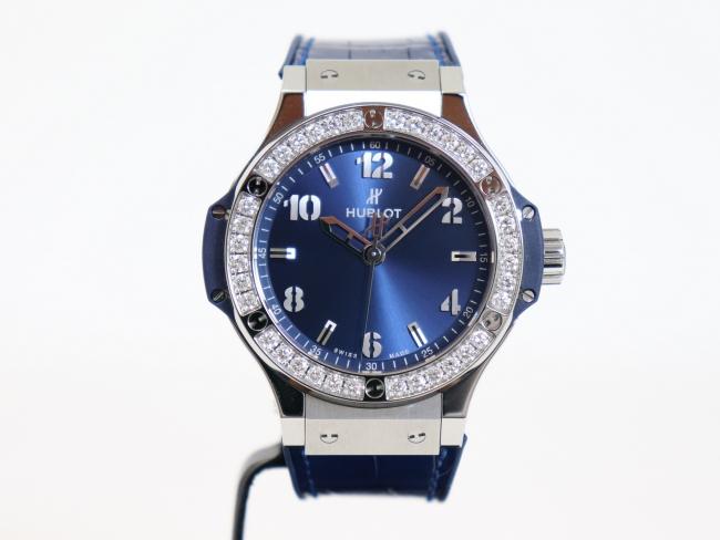 ウブロ ビッグバン スチール ブルー ダイヤモンド 361.SX.7170.LR