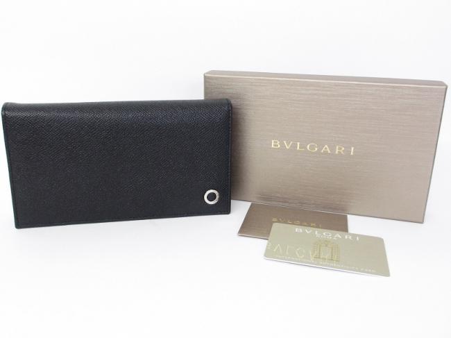 BVLGARI ブルガリブルガリ・マン 二つ折り長財布 30398