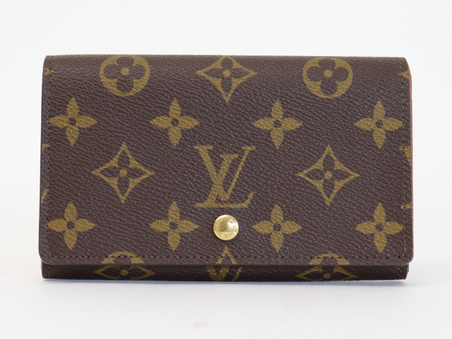 ルイヴィトン ポルトモネ・ビエトレゾール M61730 二つ折り財布