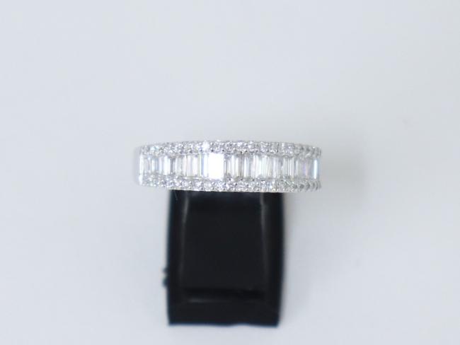 K18WG ダイヤモンド 指輪 0.73カラット 5.0g