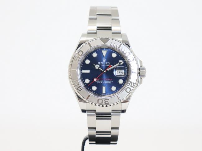 ロレックス ヨットマスター ロレジウム ブルー 116622(1月限定・査定金額10%UPキャンペーン価格!)