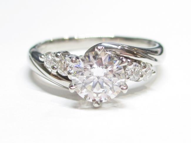 Pt900 プラチナ 指輪 ダイヤモンド 0.535カラット(4月限定・査定金額10%UPキャンペーン価格!)