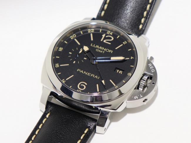 パネライ ルミノール 1950 3デイズ GMT 24H アッチャイオ(4月限定・査定金額10%UPキャンペーン価格!)