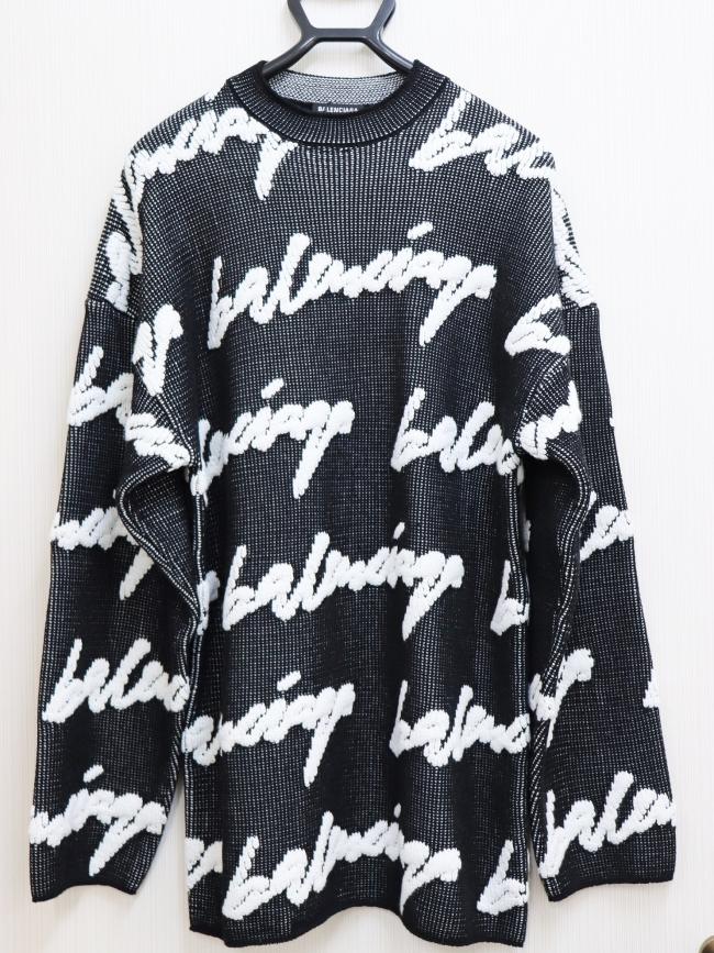 バレンシアガ メンズ クルーネックセーター 625985(4月限定・査定金額10%UPキャンペーン価格!)