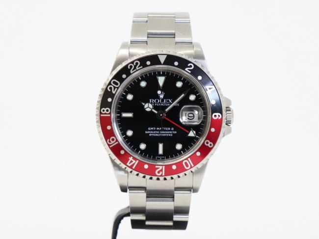 ロレックス GMTマスター2 赤×黒 Ref.16710 A番(5月限定・査定金額10%UPキャンペーン価格!)