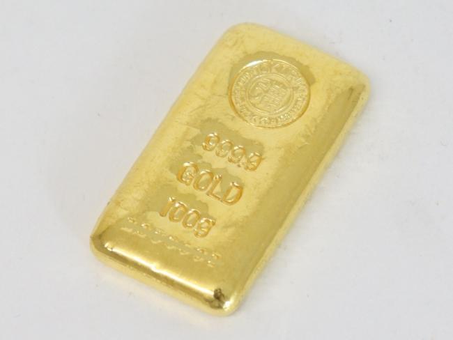 純金(24金)徳力本店 インゴットバー 100g(2021年5月現在。買取価格は毎日変動します)